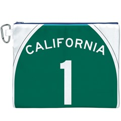 California 1 State Highway   Pch Canvas Cosmetic Bag (XXXL)