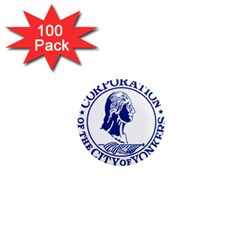 Seal Of Yonkers, New York  1  Mini Magnets (100 pack)