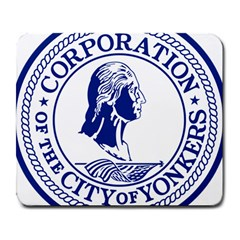 Seal Of Yonkers, New York  Large Mousepads