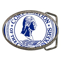 Seal Of Yonkers, New York  Belt Buckles