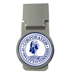 Seal Of Yonkers, New York  Money Clips (Round)  Front