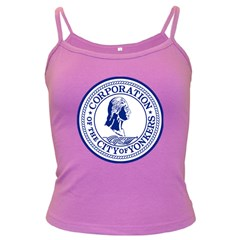 Seal Of Yonkers, New York  Dark Spaghetti Tank
