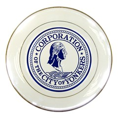 Seal Of Yonkers, New York  Porcelain Plates