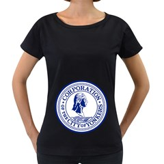 Seal Of Yonkers, New York  Women s Loose Fit T Shirt (black)