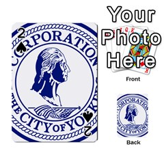 Seal Of Yonkers, New York  Playing Cards 54 Designs