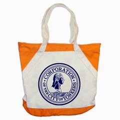 Seal Of Yonkers, New York  Accent Tote Bag