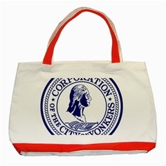 Seal Of Yonkers, New York  Classic Tote Bag (red)