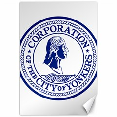 Seal Of Yonkers, New York  Canvas 12  X 18