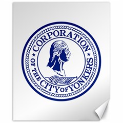 Seal Of Yonkers, New York  Canvas 16  X 20