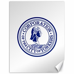 Seal Of Yonkers, New York  Canvas 18  X 24