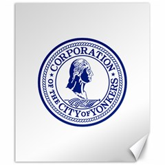 Seal Of Yonkers, New York  Canvas 20  X 24