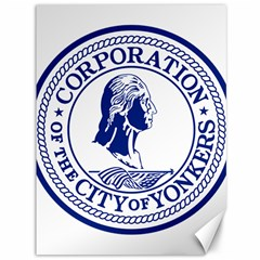 Seal Of Yonkers, New York  Canvas 36  X 48