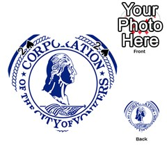 Seal Of Yonkers, New York  Playing Cards 54 (heart)