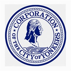 Seal Of Yonkers, New York  Medium Glasses Cloth