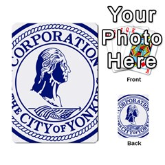 Seal Of Yonkers, New York  Multi Purpose Cards (rectangle)