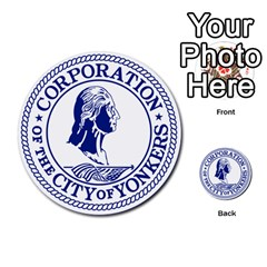 Seal Of Yonkers, New York  Multi Purpose Cards (round)