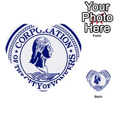 Seal Of Yonkers, New York  Multi Purpose Cards (heart)