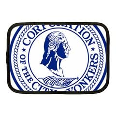 Seal Of Yonkers, New York  Netbook Case (medium)