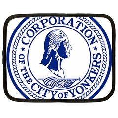 Seal Of Yonkers, New York  Netbook Case (large)