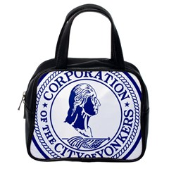 Seal Of Yonkers, New York  Classic Handbags (one Side)