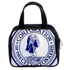 Seal Of Yonkers, New York  Classic Handbags (2 Sides)