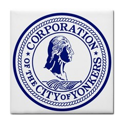 Seal Of Yonkers, New York  Face Towel