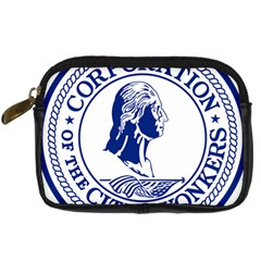 Seal Of Yonkers, New York  Digital Camera Cases