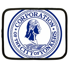 Seal Of Yonkers, New York  Netbook Case (xxl)