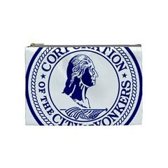 Seal Of Yonkers, New York  Cosmetic Bag (medium)