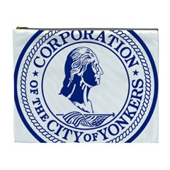 Seal Of Yonkers, New York  Cosmetic Bag (xl)