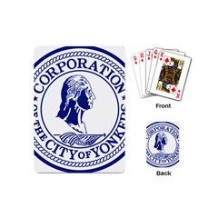 Seal Of Yonkers, New York  Playing Cards (Mini)