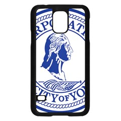 Seal Of Yonkers, New York  Samsung Galaxy S5 Case (Black)