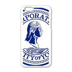 Seal Of Yonkers, New York  Apple iPhone 6/6S White Enamel Case