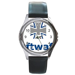 Luftwaffe Round Metal Watch