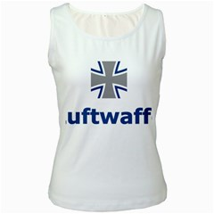 Luftwaffe Women s White Tank Top