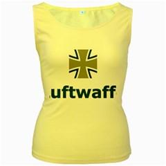 Luftwaffe Women s Yellow Tank Top