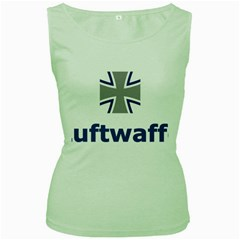 Luftwaffe Women s Green Tank Top