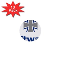 Luftwaffe 1  Mini Buttons (10 Pack)