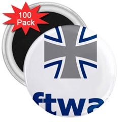 Luftwaffe 3  Magnets (100 Pack)