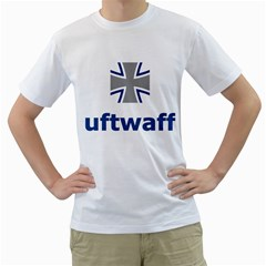 Luftwaffe Men s T Shirt (white) (two Sided)