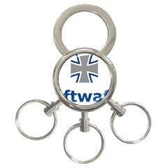 Luftwaffe 3 Ring Key Chains