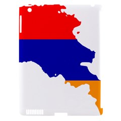 Flag Map Of Armenia  Apple iPad 3/4 Hardshell Case (Compatible with Smart Cover)
