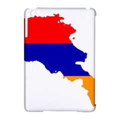Flag Map Of Armenia  Apple iPad Mini Hardshell Case (Compatible with Smart Cover)