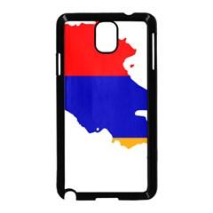 Flag Map Of Armenia  Samsung Galaxy Note 3 Neo Hardshell Case (Black)