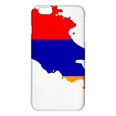 Flag Map Of Armenia  iPhone 6 Plus/6S Plus TPU Case