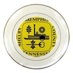 Seal Of Memphis  Porcelain Plates