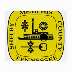 Seal Of Memphis  Small Glasses Cloth (2 Side)