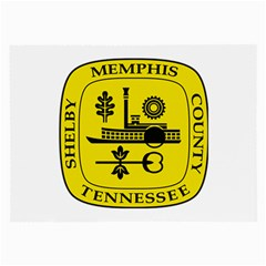 Seal Of Memphis  Large Glasses Cloth (2 Side)