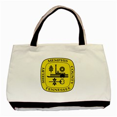 Seal Of Memphis  Basic Tote Bag (two Sides)