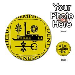 Seal Of Memphis  Multi Purpose Cards (round)